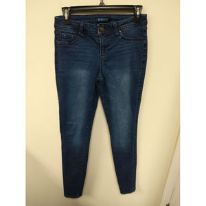 Blue Spice Women's Slim Skinny Blue Jeans Size 28
